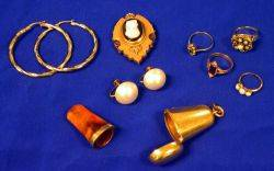 Group of Antique and Vintage Jewelry and Accessories