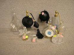 Collection of Nine Perfume Bottles