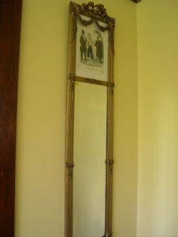 Pair of Louis XVI Style Giltwood Mirrors