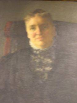 Framed Oil Portrait of a Lady