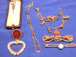 Small Group of Victorian and Vintage Jewelry