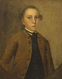 Attributed to Joseph Badger Boston and Charleston South Carolina 17081765 Portrait of Joseph Goldthwaite 17301779