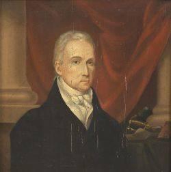 American School 19th Century Portrait of President James Monroe