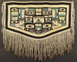 Northwest Coast Polychrome Dance Blanket