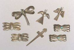 Group of Southwest Silver and Stone Jewelry Items