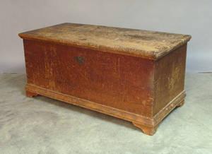 Pennsylvania poplar blanket chest
