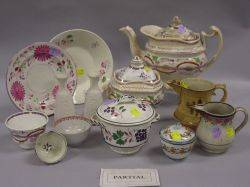 Twentysix Pieces of English Ceramic Tableware