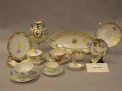 Approximately Fiftyfive Pieces of Japanese Export Decorated Porcelain Tea and Tableware