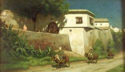 Marcus Waterman American 18341914 On the Road to Fez
