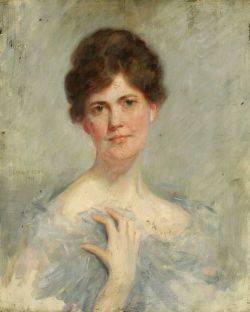 Emil Fuchs American 18661929 Head of a Woman