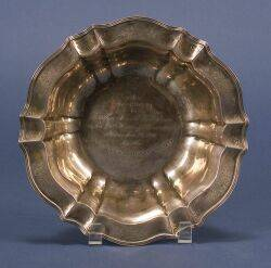 American Sterling Silver Presentation Bowl