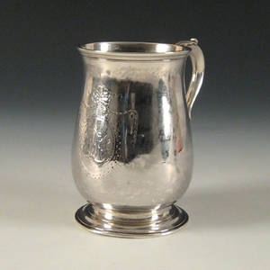 Boston silver cann ca 1770