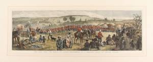 The Zulu War The March to Ulundi 19th C Engr