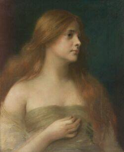 James Wells Champney American 18431903 Lilith