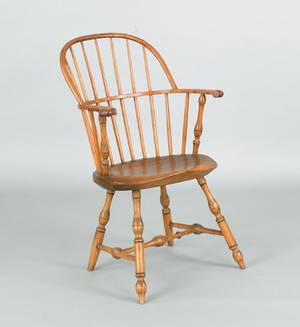 Lancaster County Pennsylvania sackback windsor chair late 18th c