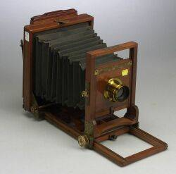Mahogany Bodied 5 X 7Inch Camera by the Blair Camera Co