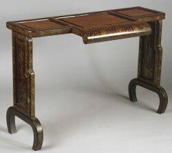 Chinese Export Lacquer Altar Table