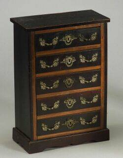 DollSized French Louis XVI Style Tall Chest