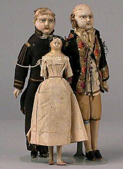 Three Early to Mid19th Century Dolls