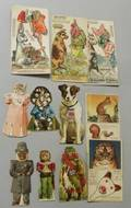 Lot of Unusual Animal Advertising Dolls