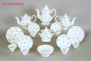French or German porcelain tea and coffee service