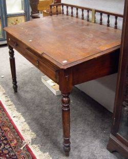 Late Victorian Oak Slantlid Clerks Desk