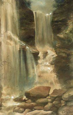 Frederick M Spielge American 18631942 The Falls