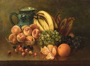 Abbie Luella Zuill American 18561924 Still Life with Fruit