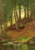 Joseph H Greenwood American 18571927 Woodland Stream