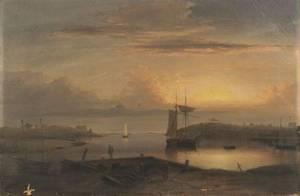 Fitz Hugh Lane American 18041865 Manchester Harbor