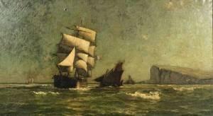 William Edward Norton American 18431916 Off Treport France