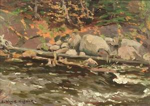 Andrew Wilkie Kilgour Canadian 18681930 The Brook