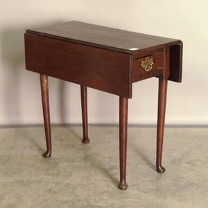 George II mahogany pembroke table