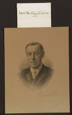 Wilson Woodrow 18561924