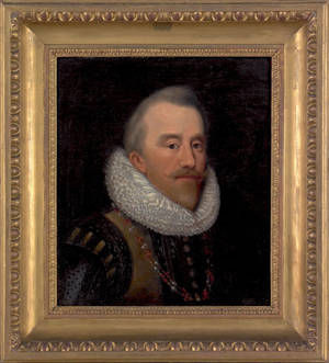 Old Masters oil on canvas portrait of a gentleman
