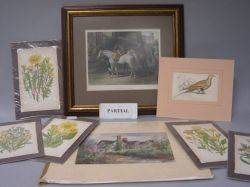 Lot of Assorted Decorative Prints and Frames