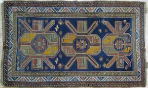 Kazak carpet early 20th c