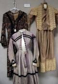 Eight Victorian Dresses