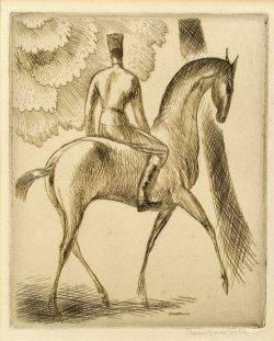 Thomas Schofield Handforth American 18971948 Horse and Rider