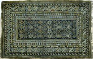 Caucasian carpet ca 1900