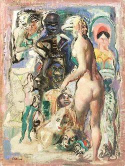 Jon Corbino ItalianAmerican 19051964 Abstract Montage