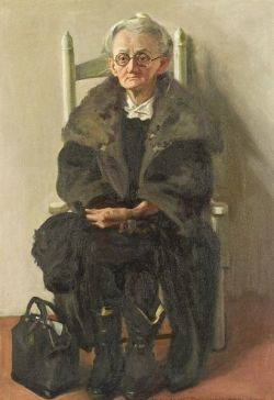 Margaret Fitzhugh Browne American 18841972 Portrait of a Seated Woman