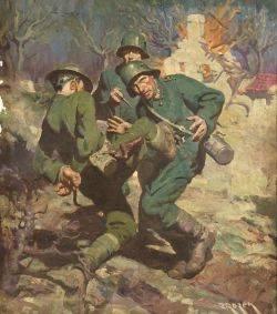 Jerome George Rozen American 18951987 World War I Illustration