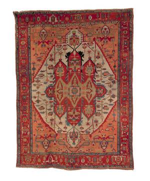 Roomsize Heriz rug ca 1900