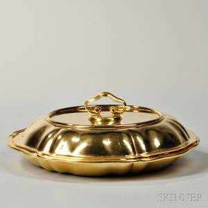 Buccellati Sterling Silvergilt Entree Dish and Cover