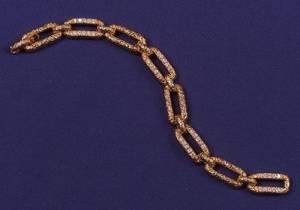 18kt Gold and Diamond Bracelet Van Cleef  Arpels