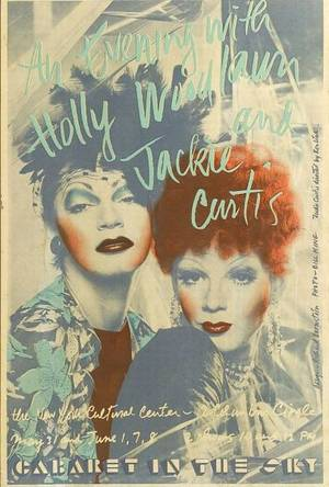Richard Bernstein American b 1930 An Evening with Holly Woodlawn and Jackie Curtis