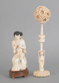 Chinese carved ivory figure