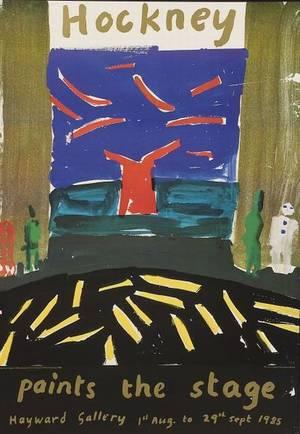 David Hockney British b 1937 Hockney Paints the Stage