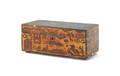 Continental decoupage dresser box